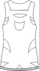 SKF-7032 バックスタイルイラスト