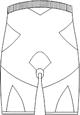 SKF-7033 バックスタイルイラスト
