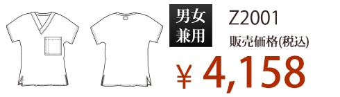 Z2001 販売価格(税抜) ¥3,780
