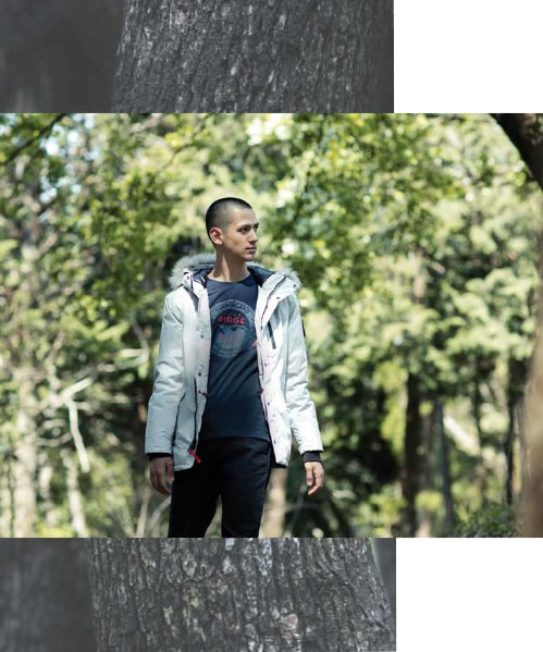 THE GLACIER WINTER JACKET COLLECTION