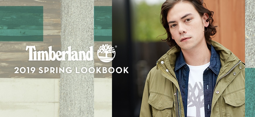 Timberland 2019 SPRING LOOKBOOK