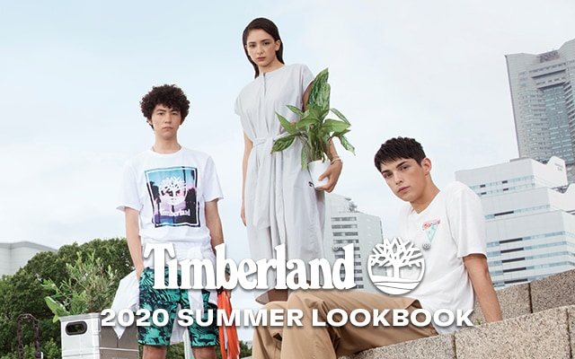 Timberland 2020 summer LOOKBOOK