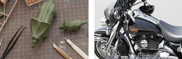 バイク 車 エンブレム複製 パーツ複製 に販売実績あり