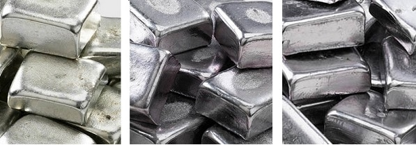 バビットメタル ホワイトメタルも ホワイトメタル2種は ホビー 金属パーツ複製 におすすめの金属