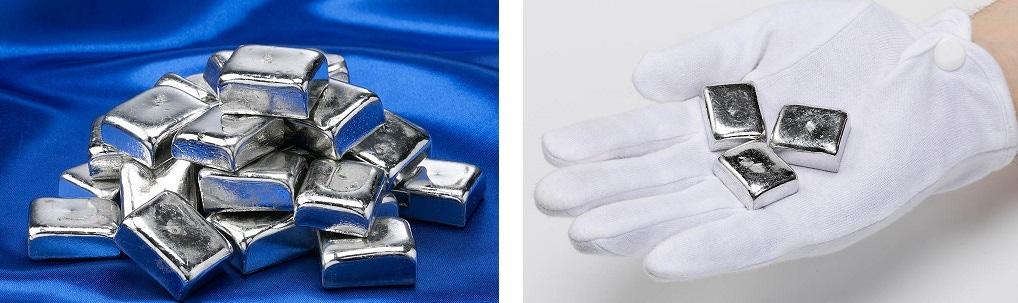 原材料にこだわり 特許取得のオリジナル製法で製造した 非常に柔らかく光沢の強い錫 純錫です