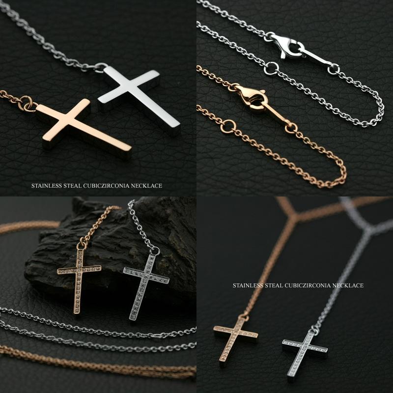 十字架ペアペンダント