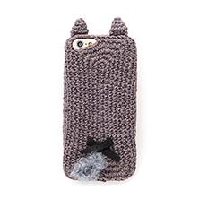 毛糸の手編みiPhoneカバー