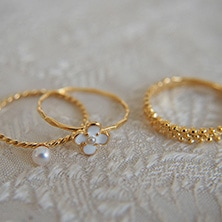 Ouca/Ring collection リング RN007・008