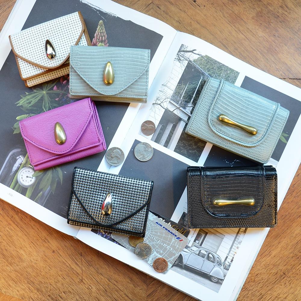 ミニ財布:三つ折りタイプ