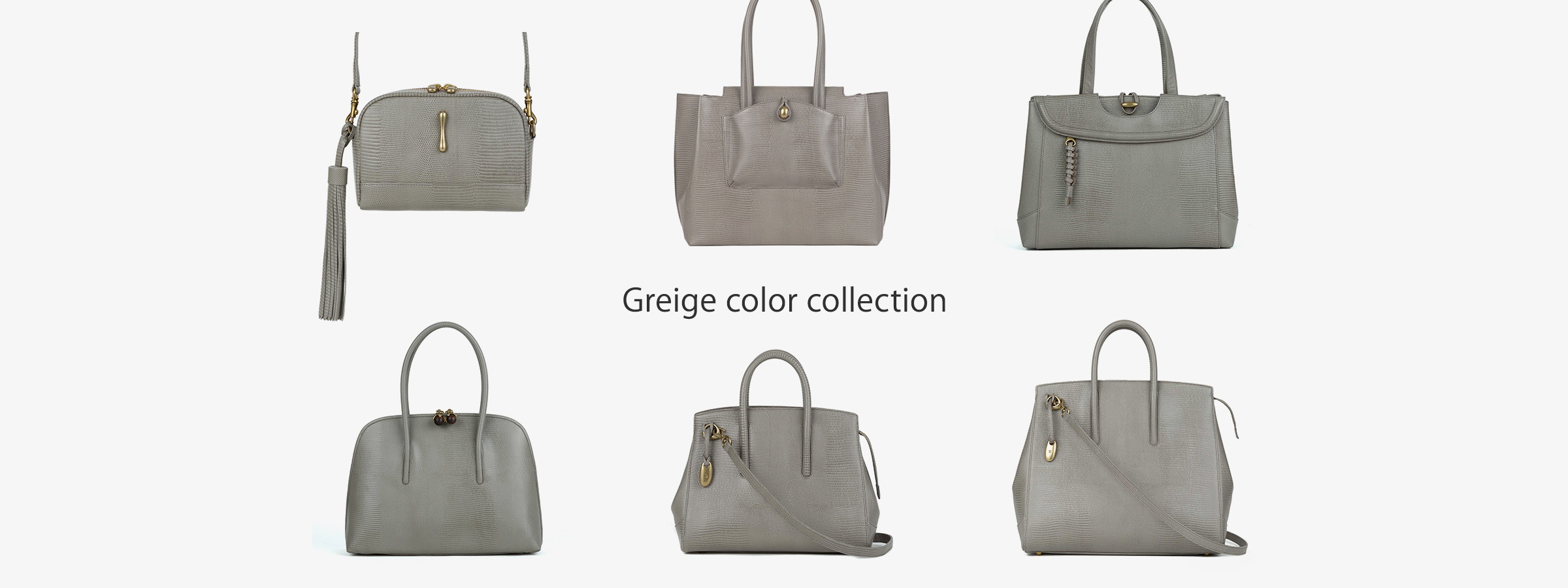 Greige color collection