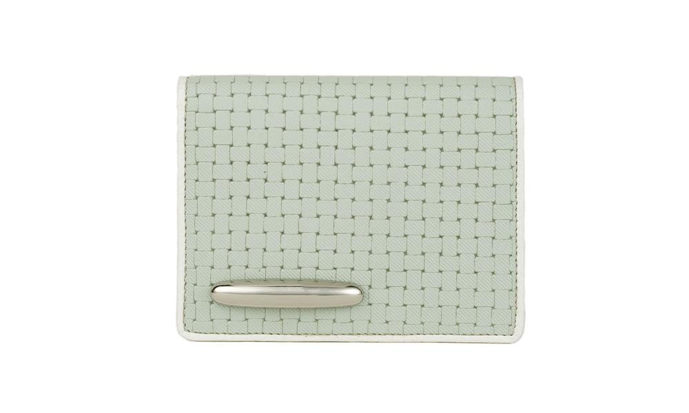 メッシュ財布(二つ折りミニ)