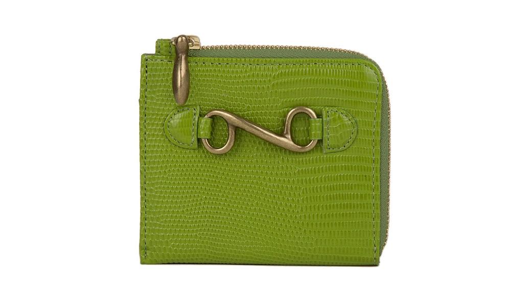 デリスリザード財布(L字ジップミニ)