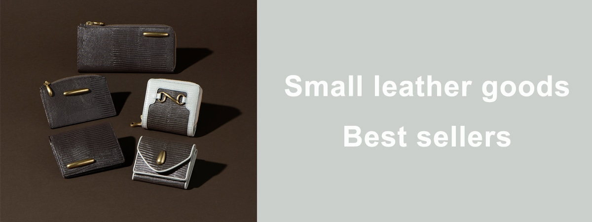 Small leather goods Best sellers