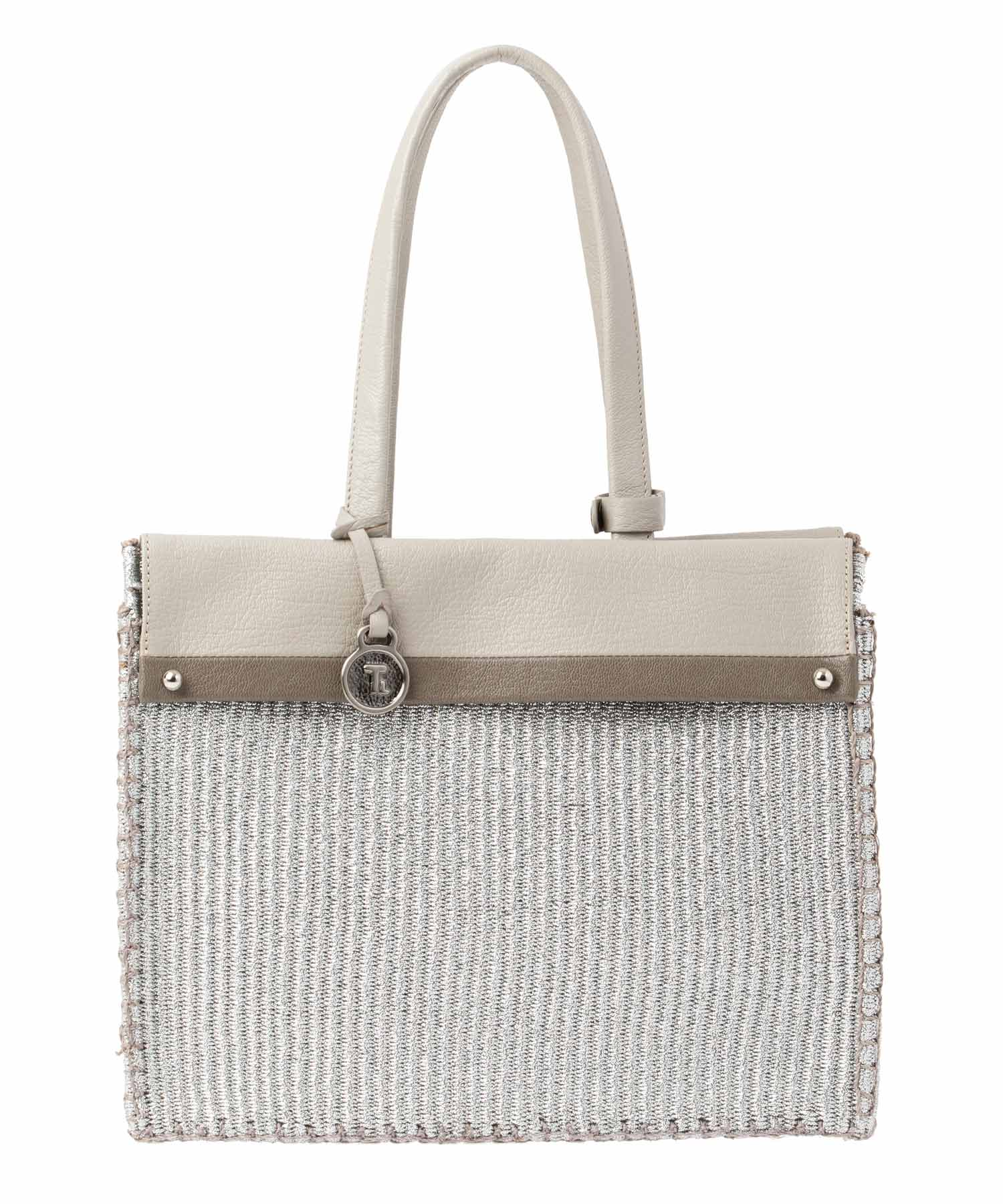Hybrid Basket Metallic (Square Tote)