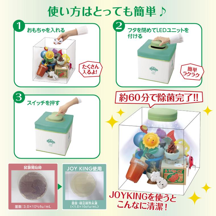 除菌ボックス ジョイキング 使い方はとっても簡単!