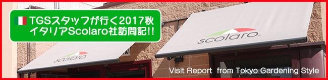 TGSスタッフが行く2017秋 イタリアScolaro社訪問記!!