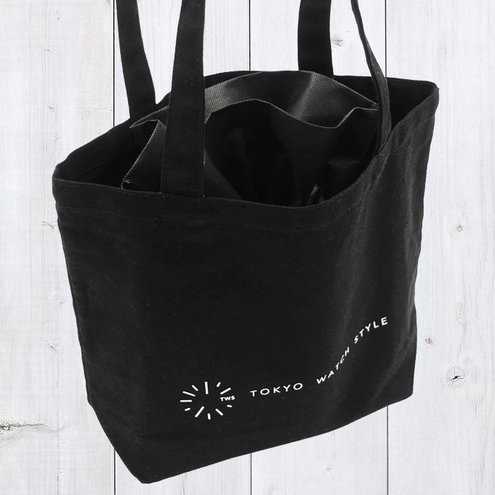 エコトートバッグは渡す際にご使用いただいたり、お客様ご自身でご使用いただけます