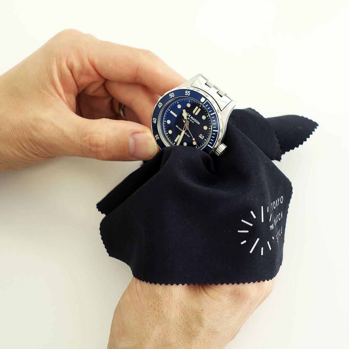 時計拭き1
