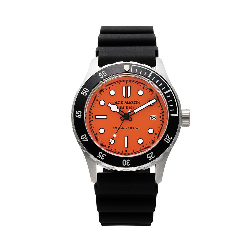 JACK MASON 日本限定 DIVER Rescue Orange JM-D101-026