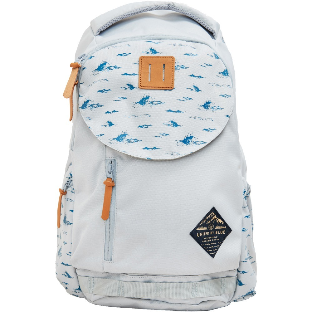 United By Blue 25L Rift Pack Grey Waves