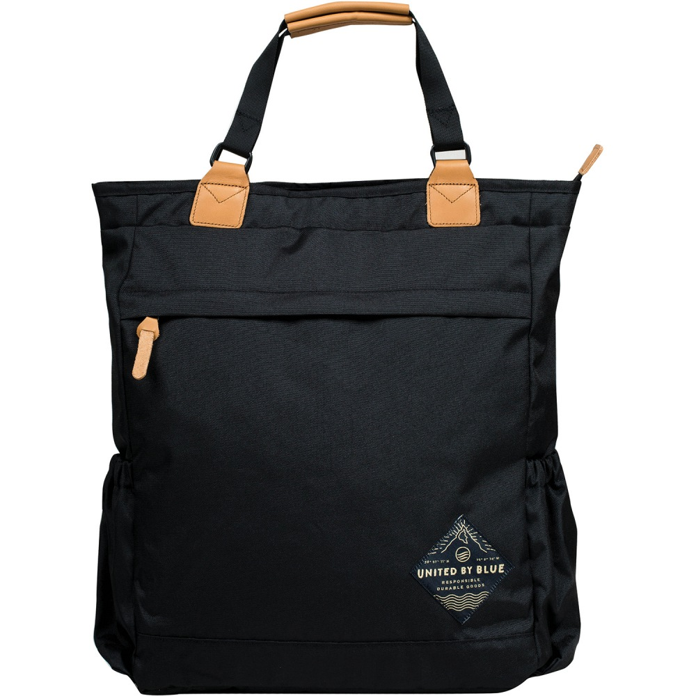United By Blue Summit Convertible Tote Pack Black