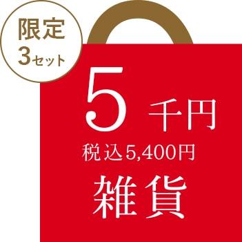 2019 とみおかクリーニング福袋 5千円コース