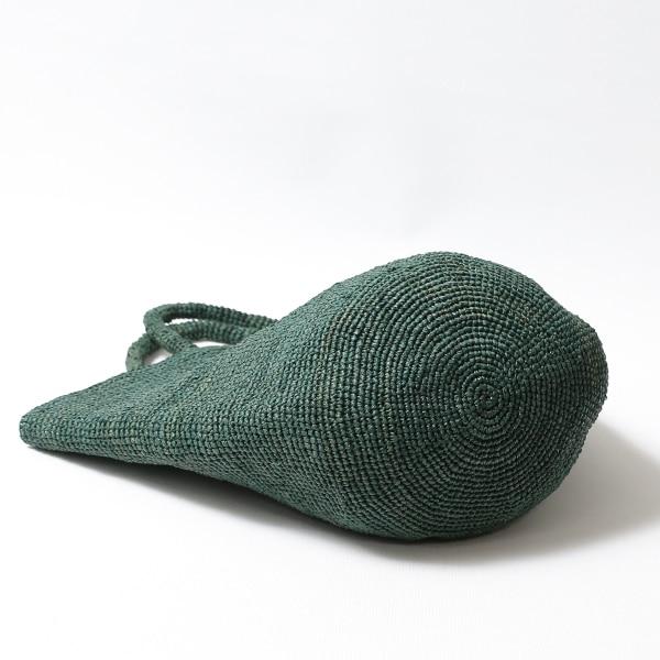 Sans Arcidet(サンアルシデ)のかごバッグラフィアトートバッグKAPITY BAG MEDIUM K