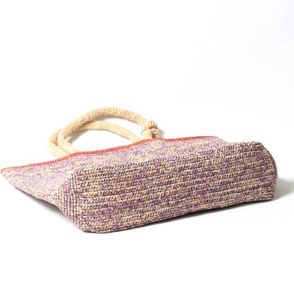 Sans Arcidet(サンアルシデ)のかごバッグラフィアトートバッグMADEMOISELLE BAG