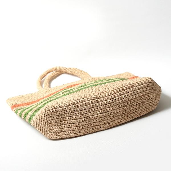 Sans Arcidet(サンアルシデ)のかごバッグラフィアトートバッグWALATA BAG