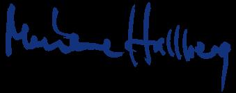 Marianne Hallberg logo