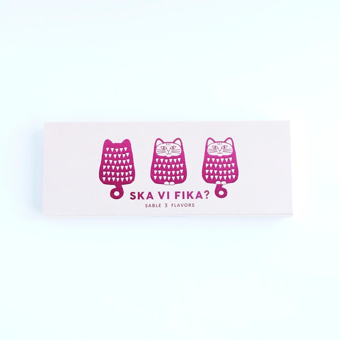 ねこサブレ〜ピンク