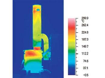 さいかい産業のペレットストーブRS-miniは背面・床面の防火工事は不要です。