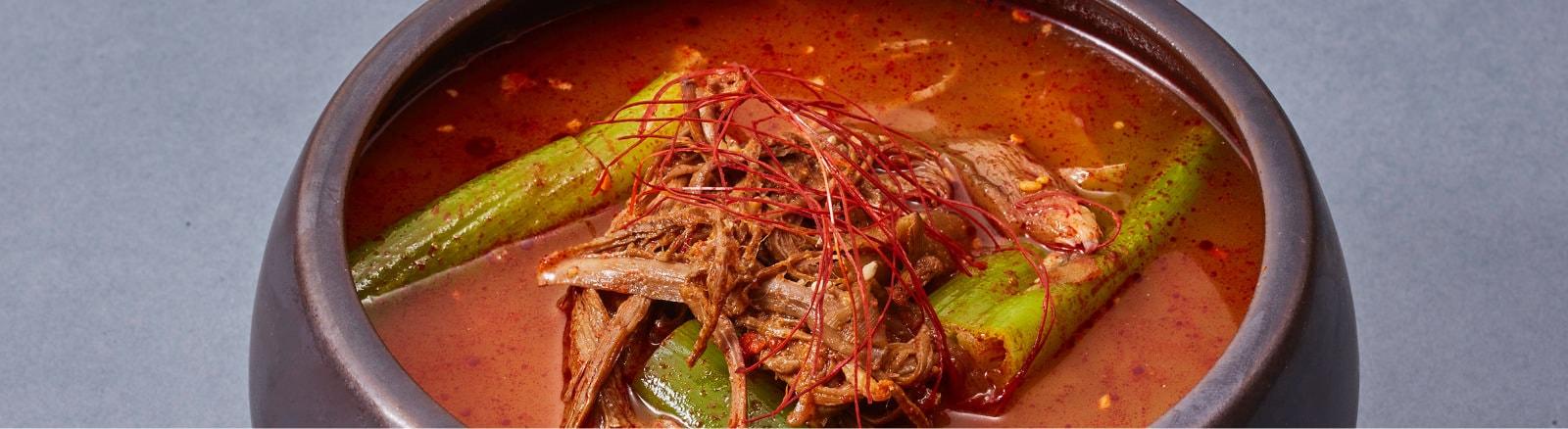 冷麺・スープ