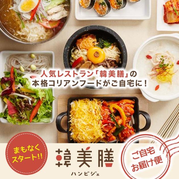 韓美膳(ハンビジェ)ご自宅お届け便