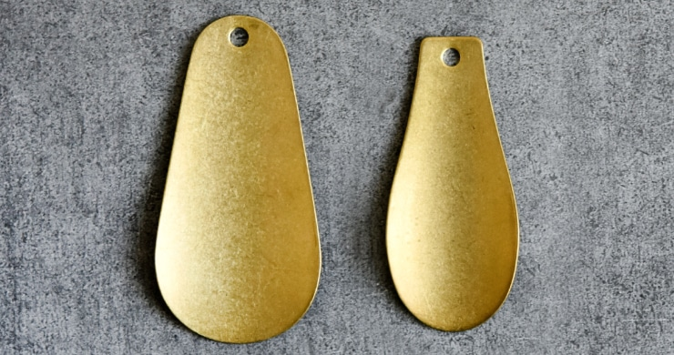 真鍮製靴べら