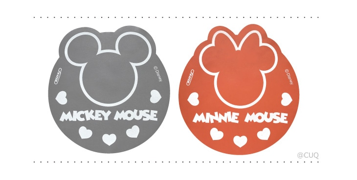 IHマットSOFT mickey mouse/minnie mouse よりどり2個セット 「ミッキーマウス」×「ミニーマウス」