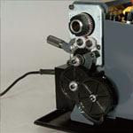 精密卓上旋盤コンパクト9,タイミングベルトとギアによるモーターパワーの確実な伝達