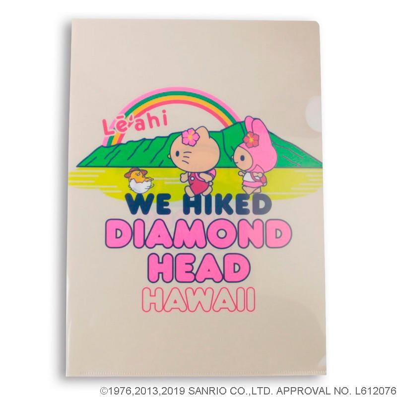 ハローキティ&フレンズ ダイアモンドヘッドクリアファイル