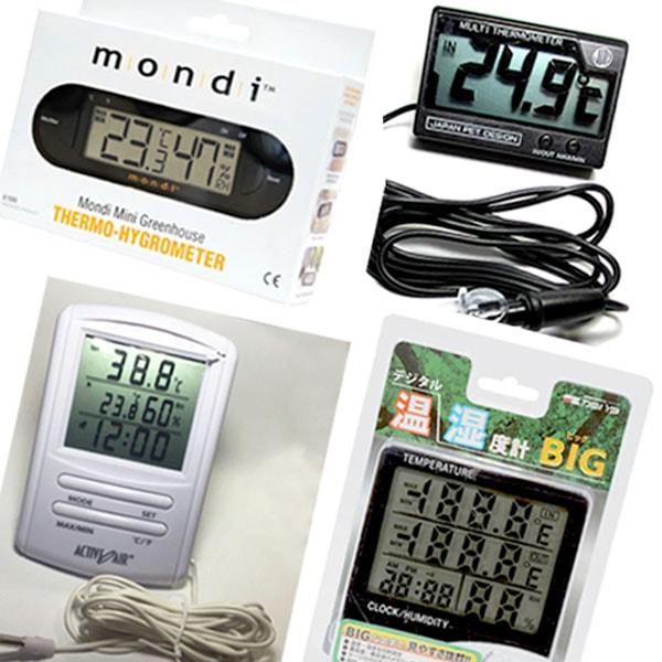 温度・湿度・水温計
