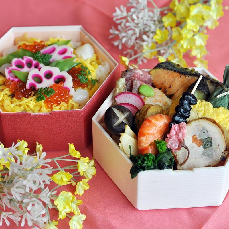 お花見御膳・ちらし寿司