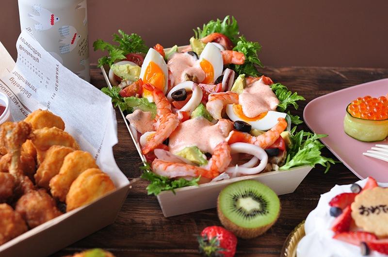特製シーフードサラダの画像1