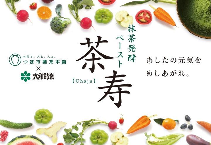抹茶発酵 ペースト 茶寿 Chaju つぼ市製茶本舗×大和酵素