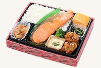 おすすめ会議弁当「漁師とコラボして作った国産銀鮭弁当