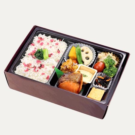 季節の炊き込みご飯の幕ノ内弁当(夏)