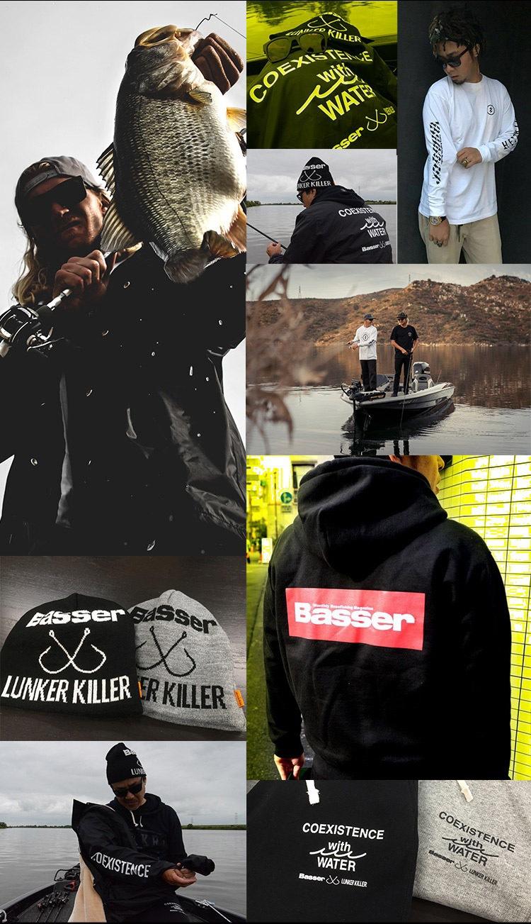 雑誌Basser公式オンラインストアLPトップ画像