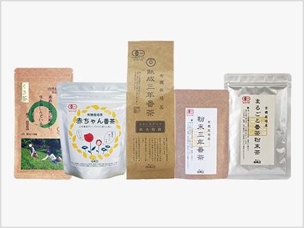 画像:葉っピイさんおすすめ緑茶と番茶