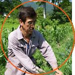写真:郷田和夫 つぶつぶファーム、つぶつぶ栽培者ネット統括マネージャー