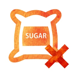 イメージイラスト:砂糖類不使用