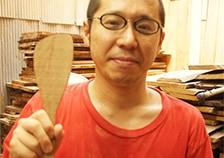 イメージ:木べら 宮島工芸製作所
