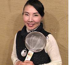 画像:ミレットストレーナーのプロデューサー持田怜美さん